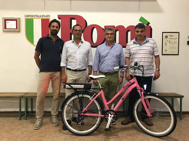 Ekletta sponsor Pomì