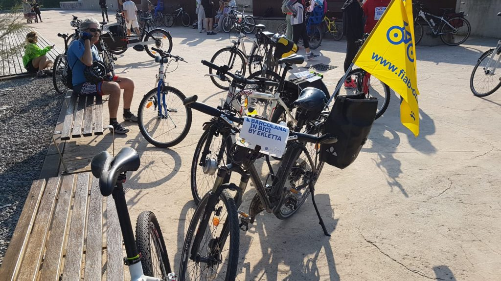 Ekletta in bici Barcolana